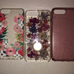 Casemate karat petals iPhone 8Plus phone cases